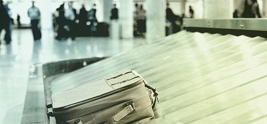 Tilvælg bagagedækning til din safeAway rejseforsikring.