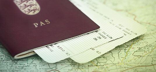 Definitioner på ord i rejseforsikringens betingelser