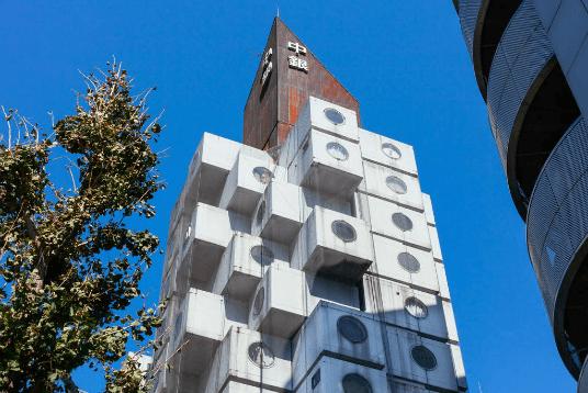 Capsule house Japan536
