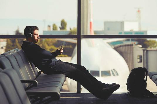 lufthavn-ventetid